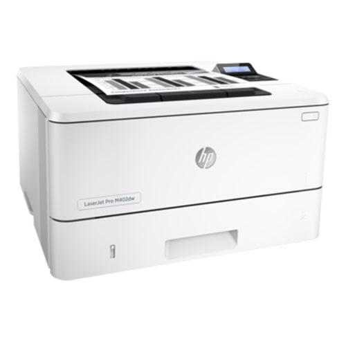 HP LaserJet Pro M402dw Wireless Printer Front Side Display