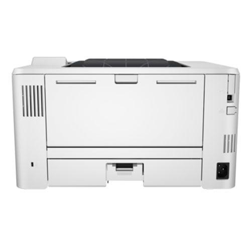 HP LaserJet Pro M402dw Wireless Printer Back Display