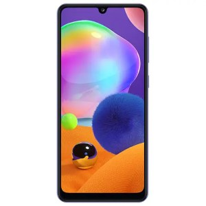 Samsung A31 Prism Crush Blue Front Display