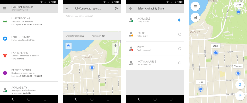 Way 4: Free tracking upon the location of a Samsung phone