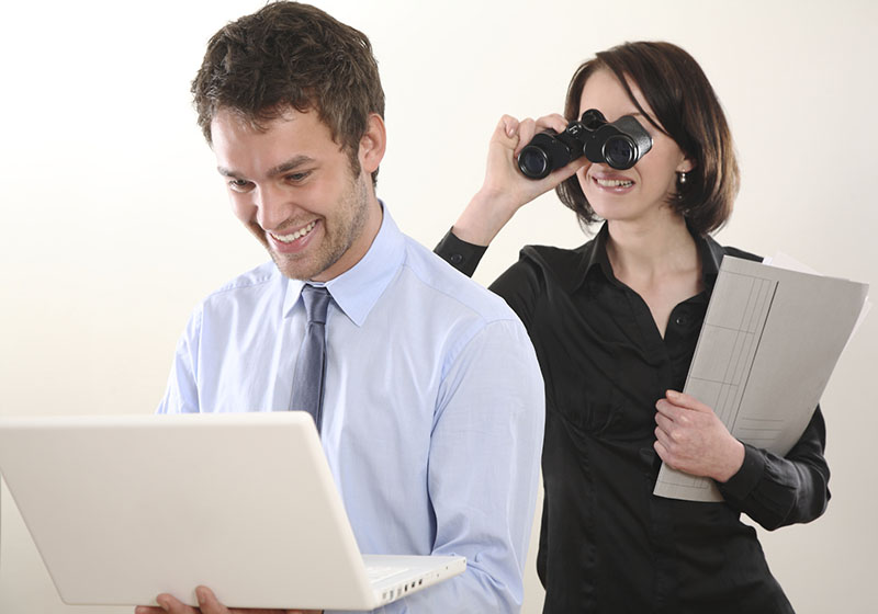 Way to spy on my hubby cell-phone without touching his cell-phone