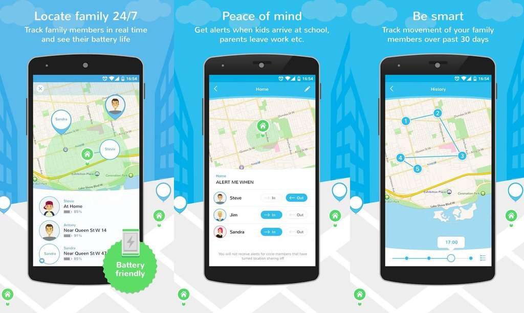 Phone Locator to Track the Location through Number