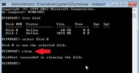 Hướng dẫn sửa lỗi Windows cannot be installed to this disk, the selected disk has an mbr partition style 6