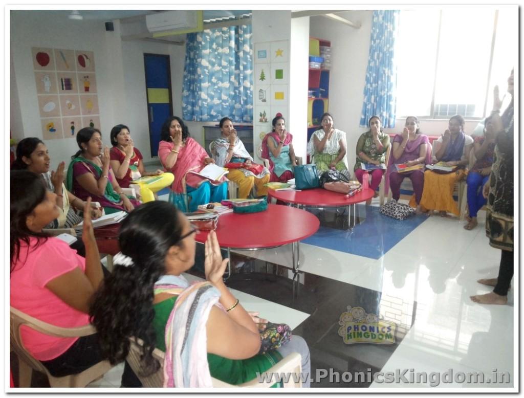 Phonics Training at Thane Centre 2015