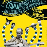 Phono Mundial invite Les Pythons de la Fournaise