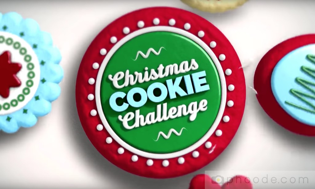 christmas tv show logo, christmas cookie challenge, christmas food story, food history, christmas treats history, christmas cookie history, christmas baking history, christmas cookie bakeoff history, christmas traditions, christmas food history, history of christmas cookie, evolution of the christmas cookie, raditional medieval time gingerbread poland germany, gingerbread men cookie store bought, history of cookie decorating, royal icing, cookie bakeoff, cookie baking show, food network show,