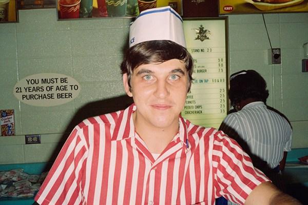 Vintage American Diner Photographer Chef