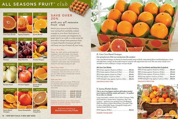 Hales Groves Catalog Creative Food Jobs