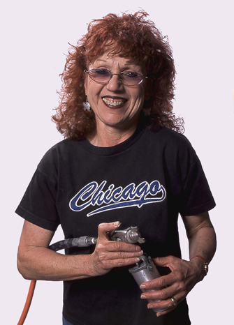 Judy Chicago Portrait
