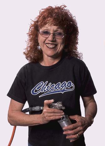 Judy Chicago Portrait