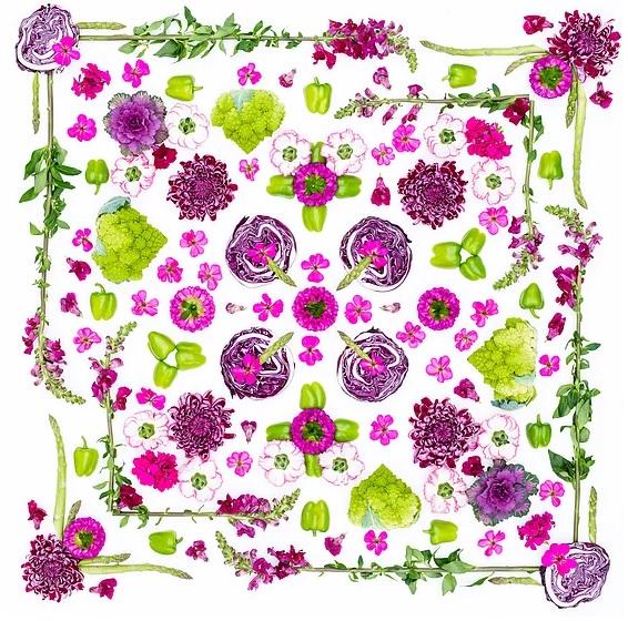 Vegetable Mosaic Amba Estee