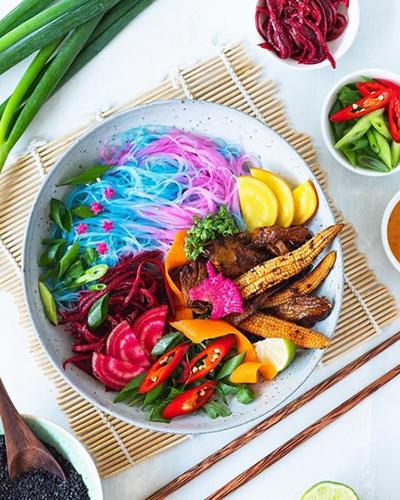 Blue Noodles Vegan Food