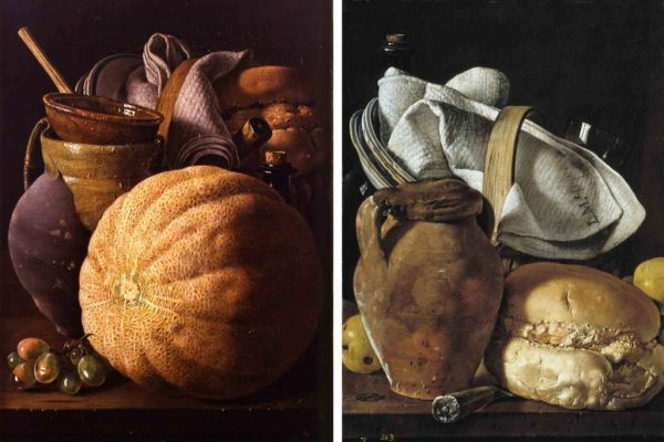 Luis Egidio Melendez, food still life painting, food art spanish, food fine artist, food creative, fine art painter food, food fine art around the world, food photography pioneers, food photography inspirations, minimalistic food painting, food fine arts icons, iconic food still life paintings, provocative food painting, food illustrator, food fine arts inspiration, food creative inspiration, influential food artist, Mediterranean food paintings, god father of chiaroscuro food photography, dark food photography,