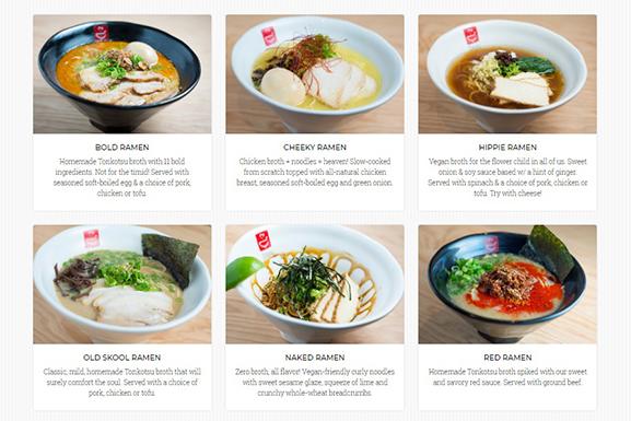 Ramen Menu Tatsu Plated Creative Food Jobs