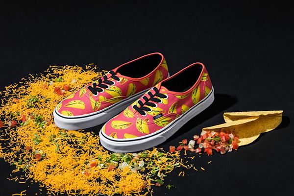 Vans Tacos Textile Design Creative Food Job