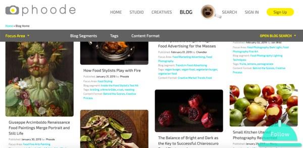 professional food photography blog, phoode food photography blog segments; professional food photography blog; international food photography community; food photographers creatives network website