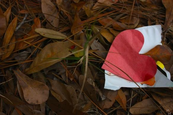 heart in leafs
