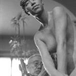 1962年 石松健男 《朝倉文夫アトリエ》