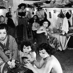 1953頃 大束 元『軌跡』《カジノ座の人々》