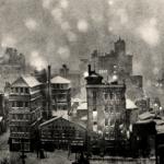 1951年頃 大束 元『軌跡』《東京雪景》