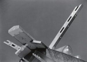 伊勢神宮 内宮正殿の棟 1953年