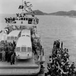 1954年 野水正朔『淡國写眞帖』《海の国道》