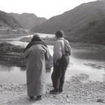 1953年ごろ 山﨑治夫《(旧栃原橋水没→西川)老婆と男》
