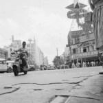 1954年頃 渋谷高弘 《傷だらけの銀座四丁目》