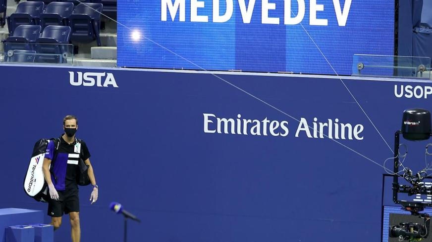 Daniil Medvedev victorious in US Open return - Official ...