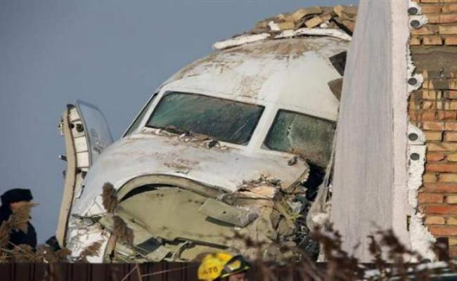12 Killed As Plane Crashes In Kazakhstan But Many Survive