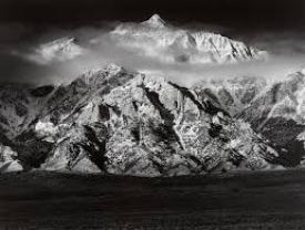 photo ansel adams panorama paysage de l'ouest