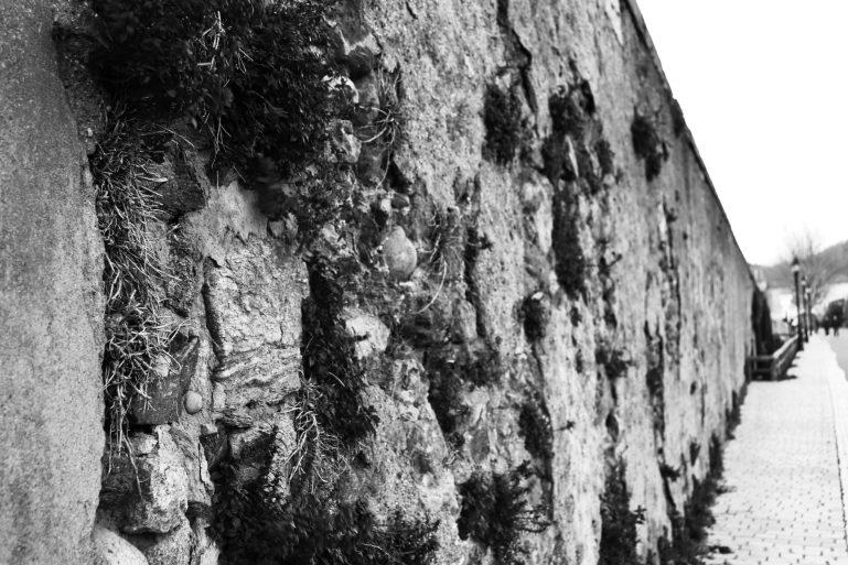 photo mur noir et blanc challenge 52