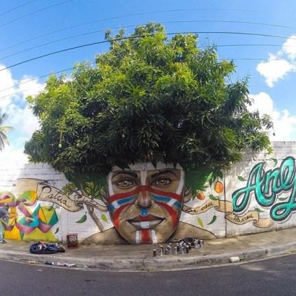 « Afro Taino » par Gabriel Abreu – San Cristobal, République Dominicaine