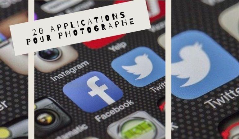 applications pour photographe