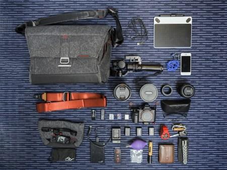 matériel photos en voyage