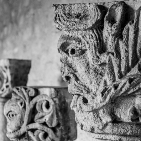 art romain sculpture challenge 52 noir & blanc