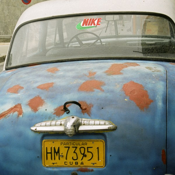Old Chevy cars are seen all over Cuba