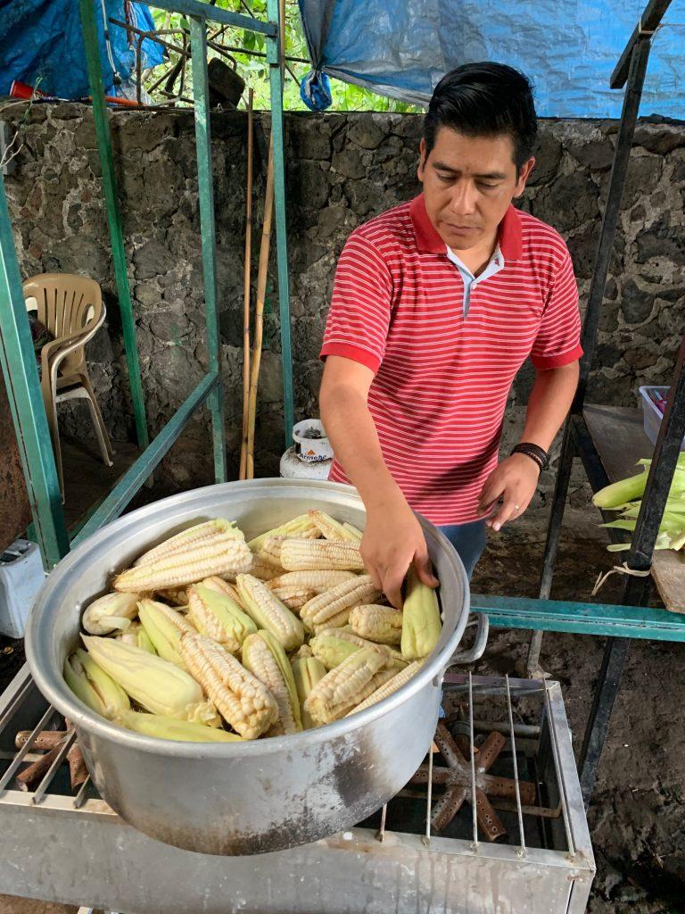 Corn, Tepoztlan, Mexico ©2019, Cyndie Burkhardt