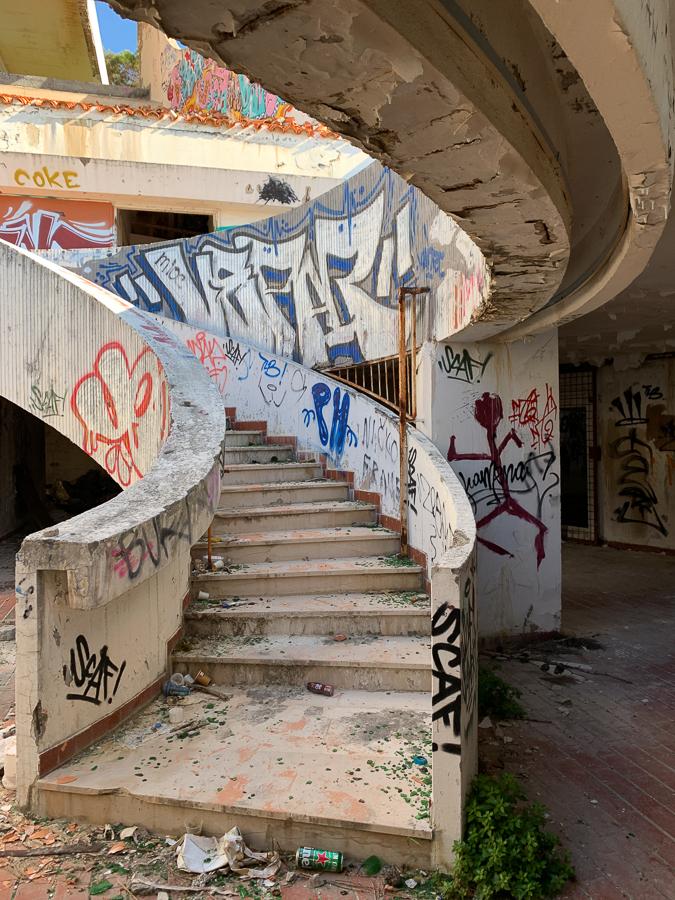 Abandoned Building, Split, Croatia ©2020, Cyndie Burkhardt.