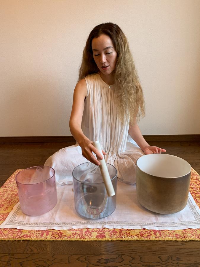 Sound Healer, Kyoto, Japan, ©2020, Cyndie Burkhardt.