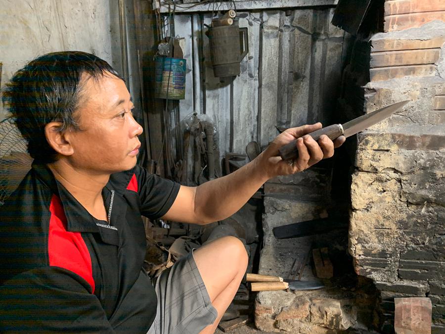 Da Sy Blacksmith Village, Hanoi, Vietnam, ©2019, Cyndie Burkhardt.