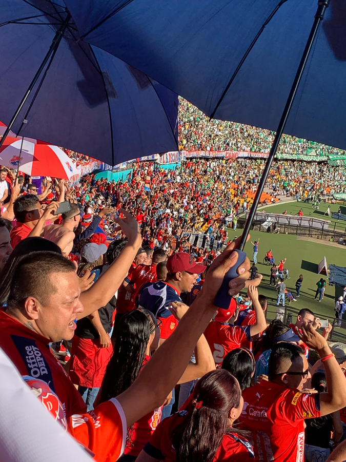 Football in Medellín, Medellín, Colombia, ©2019, Cyndie Burkhardt.