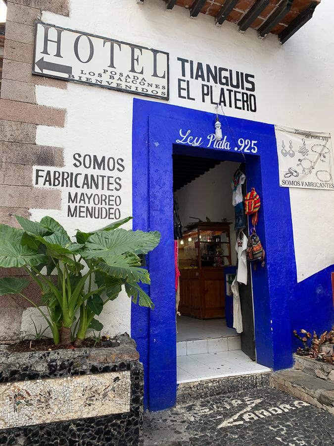 Silver shop, Taxco, Mexico ©2019, Cyndie Burkhardt
