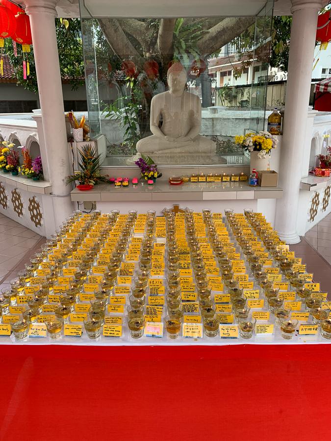 Buddhist Maha Vihara, Kuala Lumpur, Malaysia, ©2020, Cyndie Burkhardt.