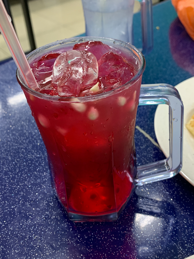 Malaysian sweet drink, Kuala Lumpur, Malaysia, ©2020, Cyndie Burkhardt.
