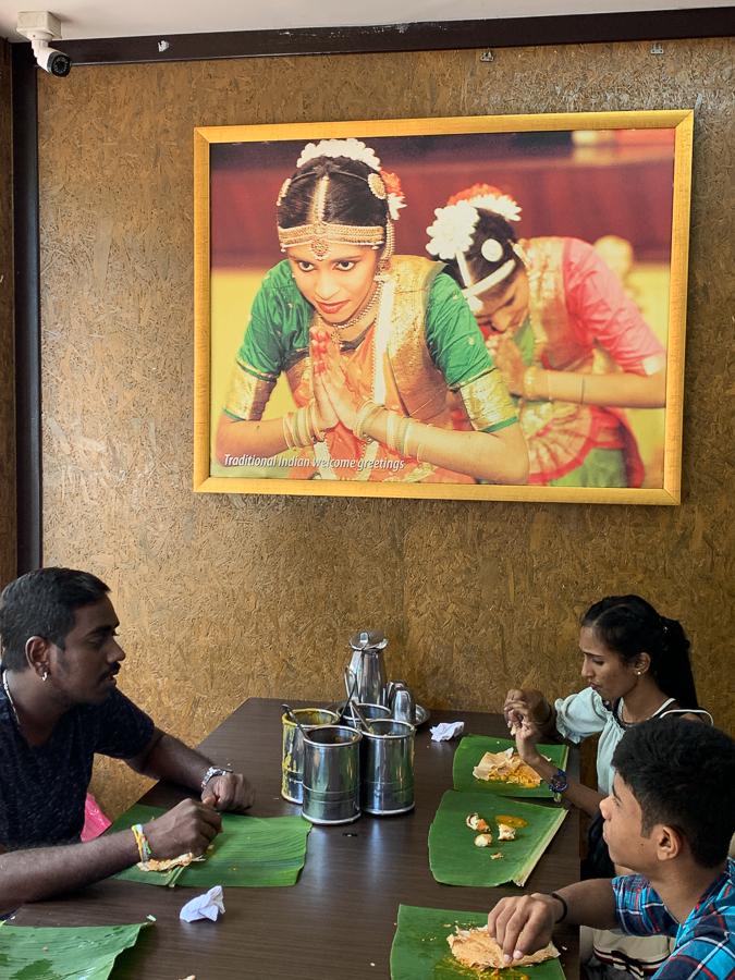 Chettinad cuisine, Kuala Lumpur, Malaysia, ©2020, Cyndie Burkhardt.