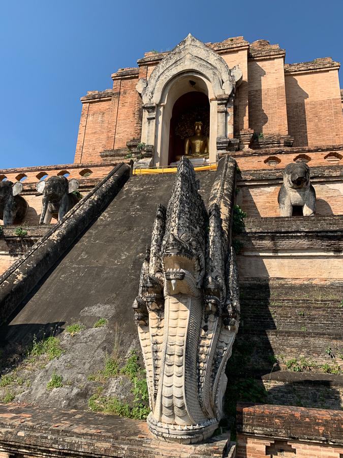 Temple, Chiang Mai, Thailand ©2019 Cyndie Burkhardt.