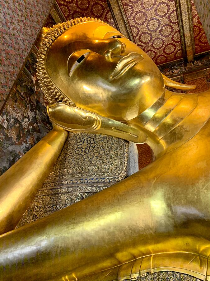 Temple of the Reclining Buddha, Bangkok, Thailand ©2019 Cyndie Burkhardt.
