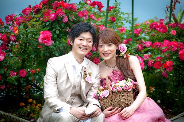 長崎にあるスタジオの婚礼フォト