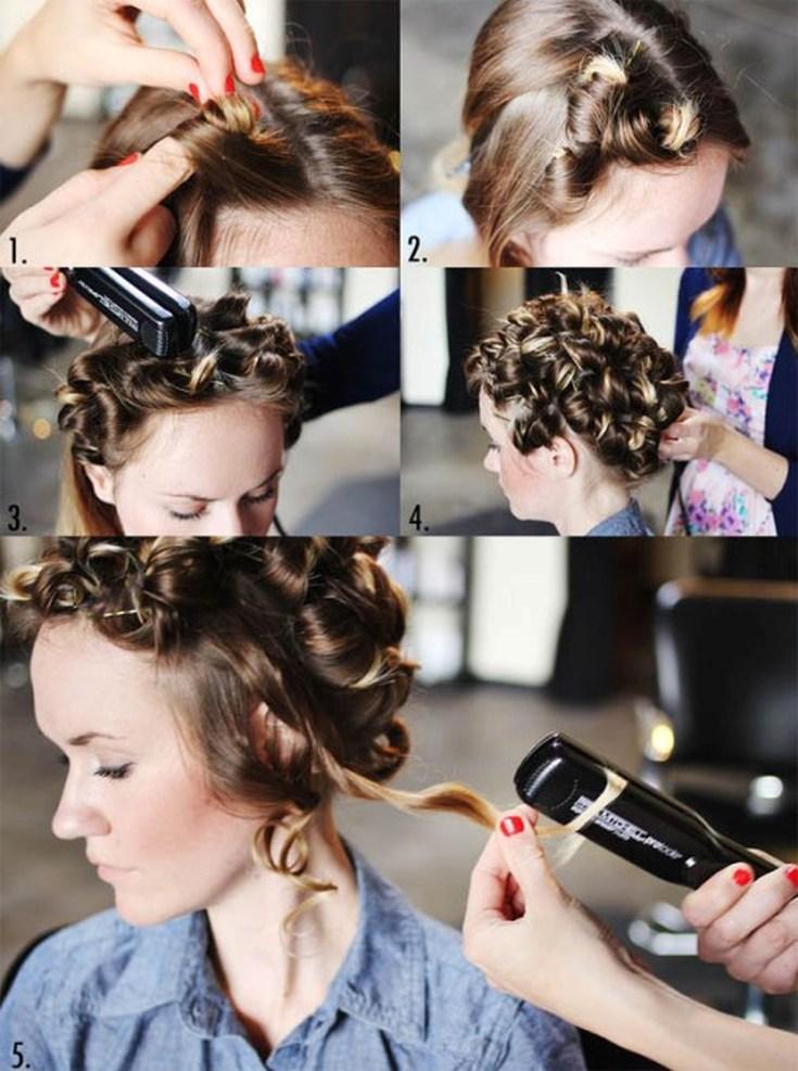 Regulile principale Cum de a vâna părul este călcat